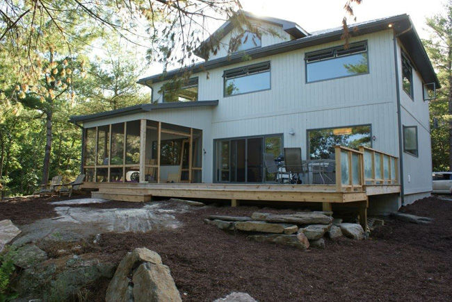 four season executive cottage on Mississagua Lake, Kawartha Highlands region