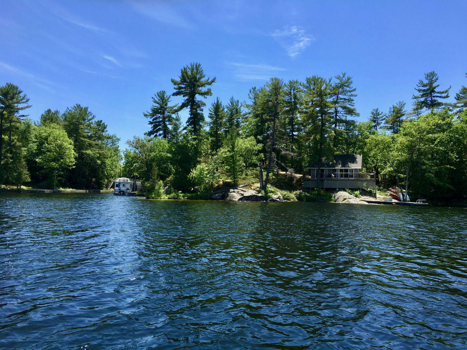 Cool Cottage On Stoney Lake Kawartha Cottage Vacations Home Interior And Landscaping Palasignezvosmurscom