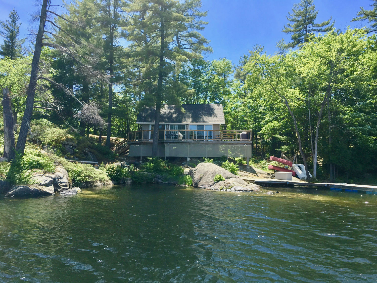 Pleasant Cottage On Stoney Lake Kawartha Cottage Vacations Home Interior And Landscaping Oversignezvosmurscom