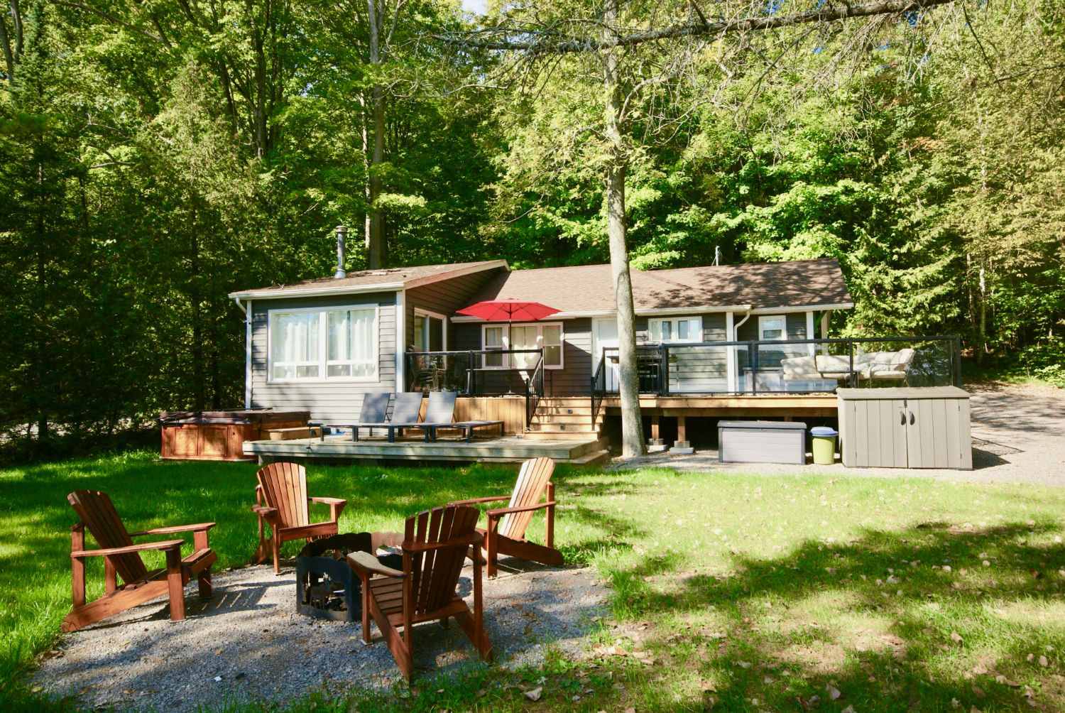 Barefoot Retreat On Buckhorn Lake